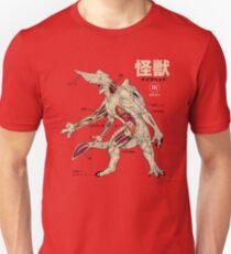 Kaiju Anatomy Unisex T-Shirt