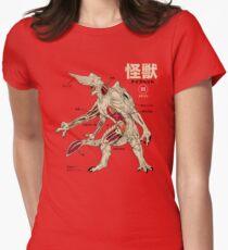 Kaiju Anatomy Women's Fitted T-Shirt