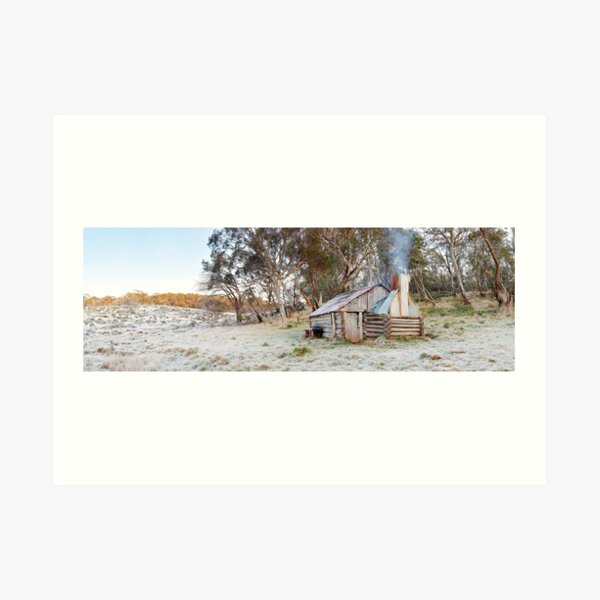 Frosty Guys Hut, Alpine National Park, Victoria, Australia Art Print