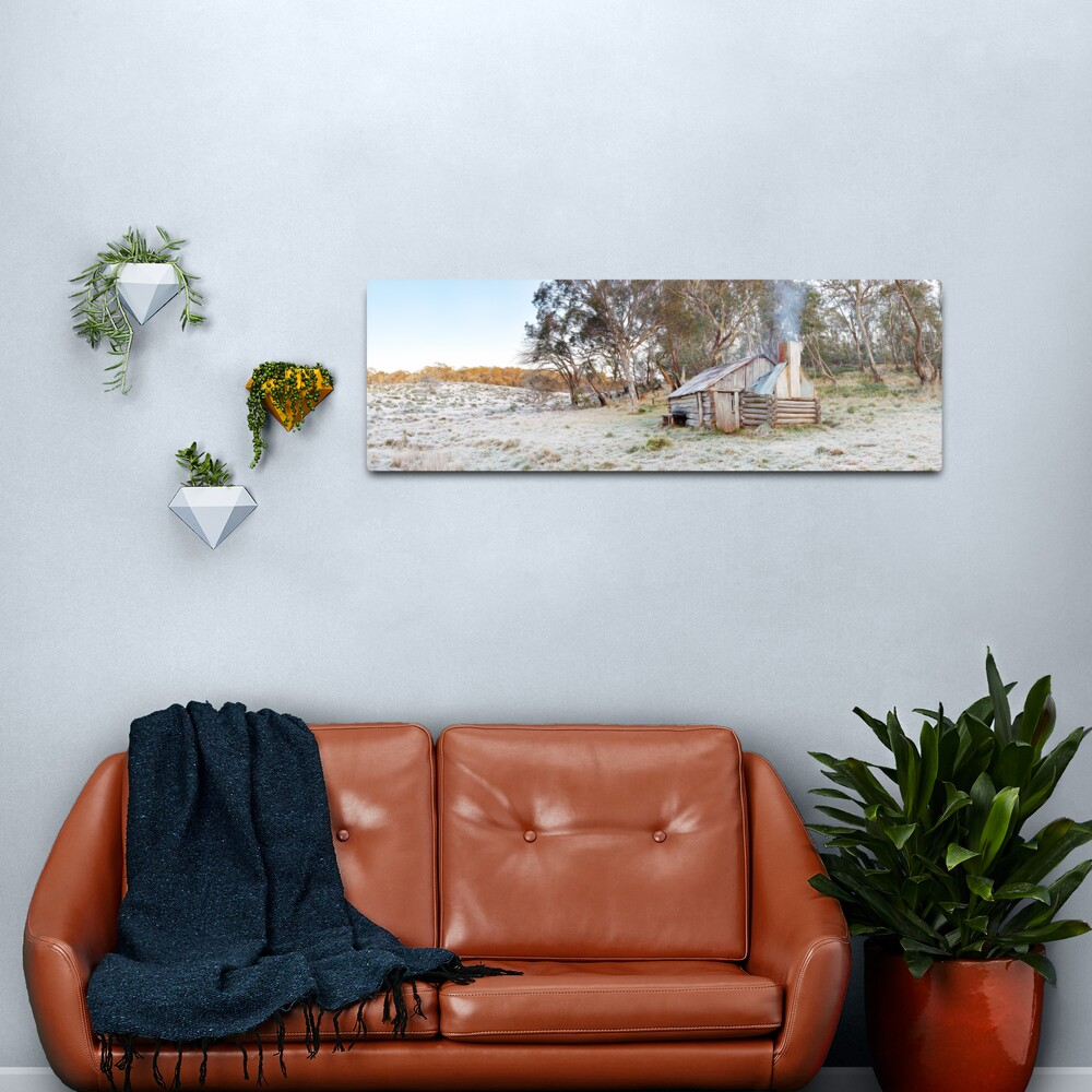 Frosty Guys Hut, Alpine National Park, Victoria, Australia Metal Print