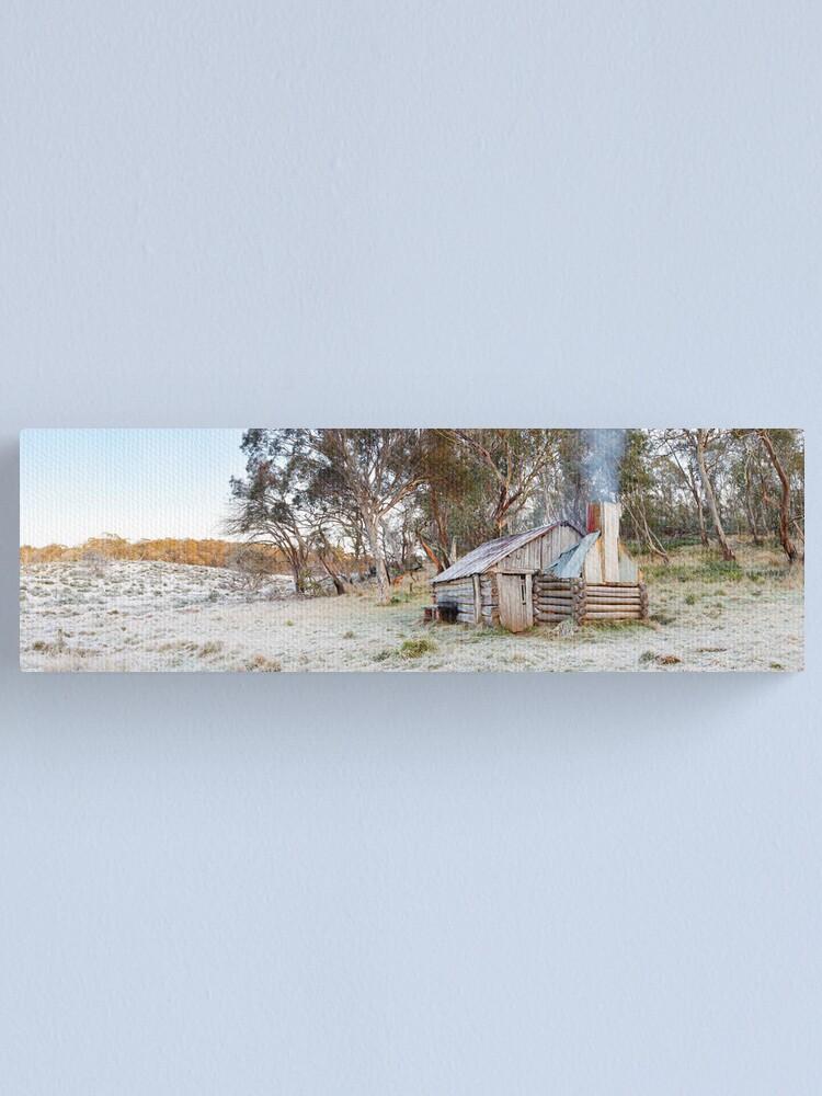 Alternate view of Frosty Guys Hut, Alpine National Park, Victoria, Australia Canvas Print