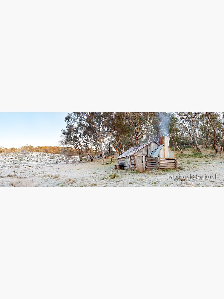 Frosty Guys Hut, Alpine National Park, Victoria, Australia by Chockstone