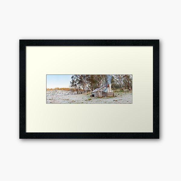 Frosty Guys Hut, Alpine National Park, Victoria, Australia Framed Art Print
