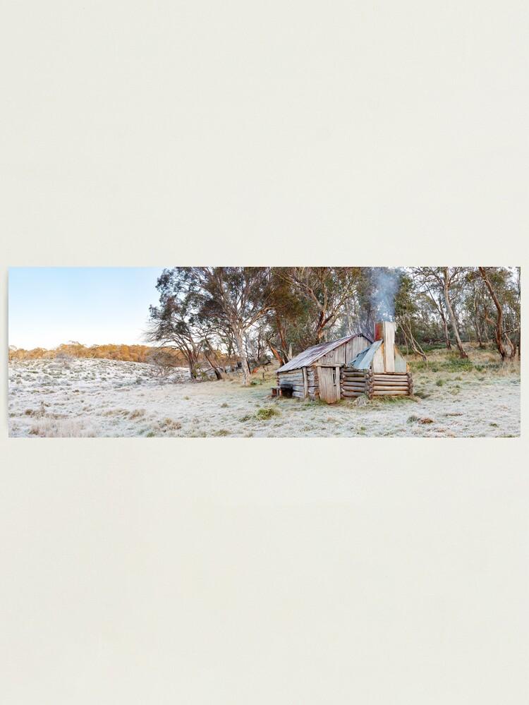 Alternate view of Frosty Guys Hut, Alpine National Park, Victoria, Australia Photographic Print