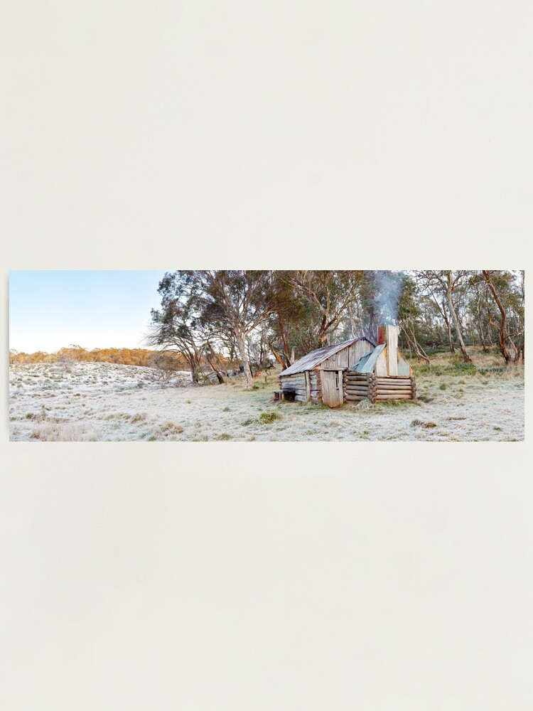 Alternate view of Frosty Guys Hut, Alpine National Park, Victoria, Australia Photographic Print