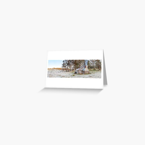 Frosty Guys Hut, Alpine National Park, Victoria, Australia Greeting Card