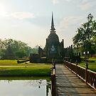 Bridge to Buddha by MichaelDarn