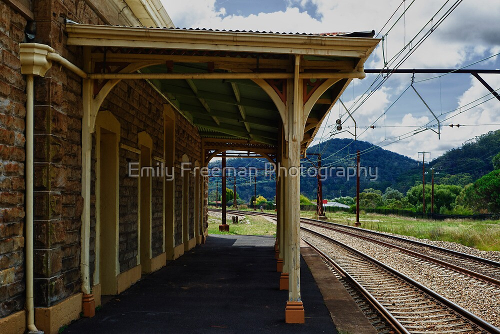 Train to.....?? by Emily Freeman Photography