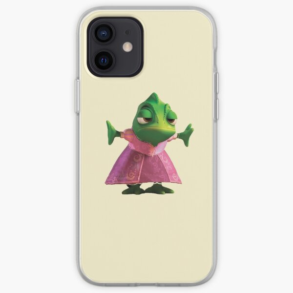 Pascal the Chameleon from Disney Tangled iPhone Soft Case