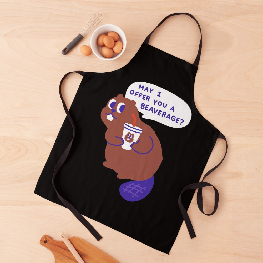 Beaver offers a Beverage Apron