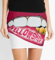 Fellowship Lips  Mini Skirt