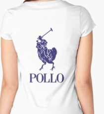 Pollo Women's Fitted Scoop T-Shirt