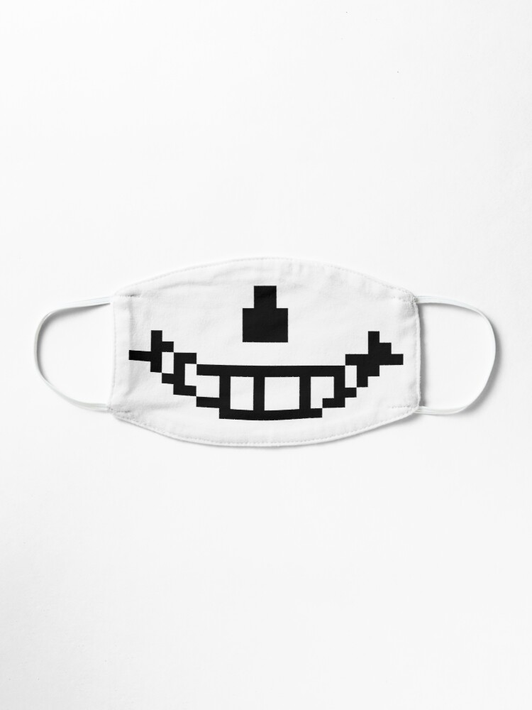 Sans Mouth Mask By Indie Blast Redbubble