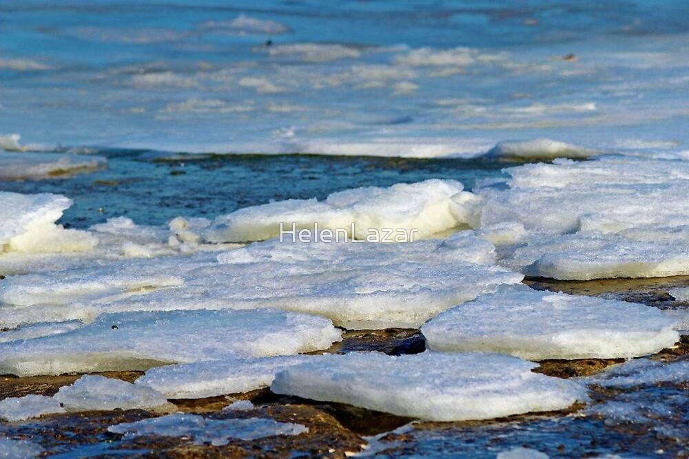 Frozen Bay by HelenLazar