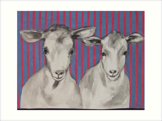 naughty goats by janekaye