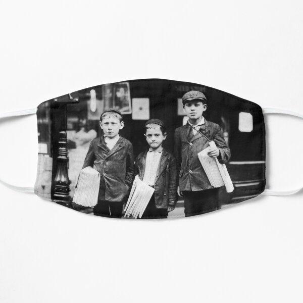 Three Young Newsies - Lewis Hine - Philadelphia - 1910 Mask