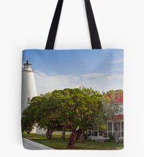 Ocracoke Lighthouse Tote Bag