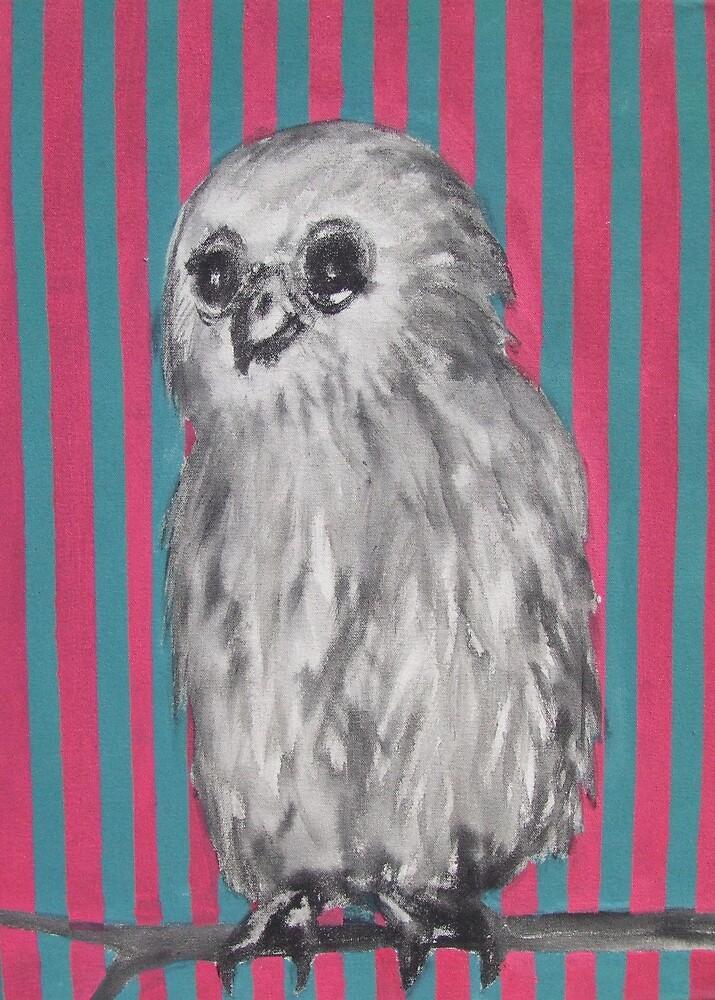 Mrs Owl by janekaye