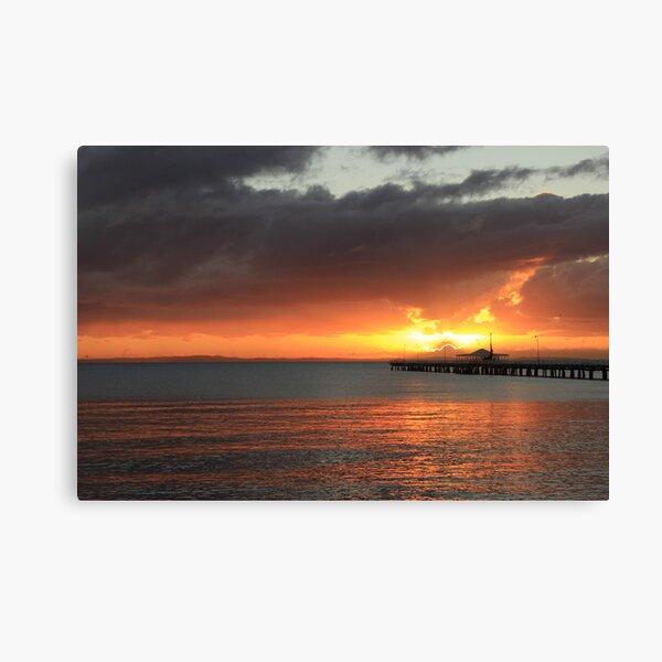 Sandgate Sunrise - QLD Canvas Print