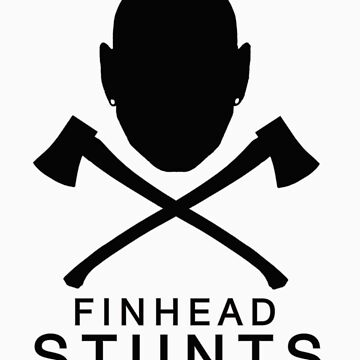 FinheadStuntsLogoBlack/Silver by nellie