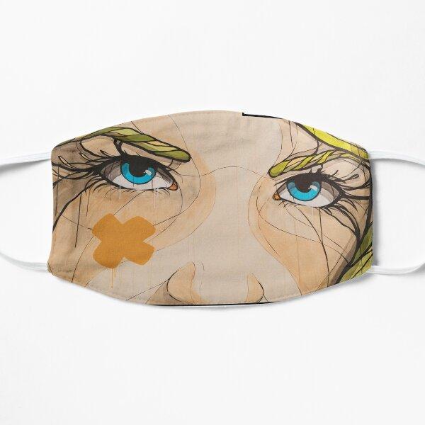 Her gaze... Flat Mask