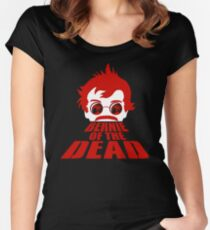 Bernie of the Dead Women's Fitted Scoop T-Shirt