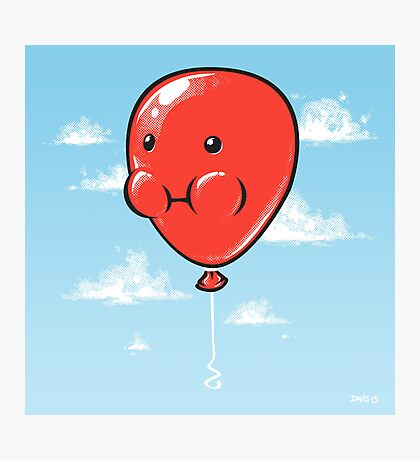 Balloon Photographic Print