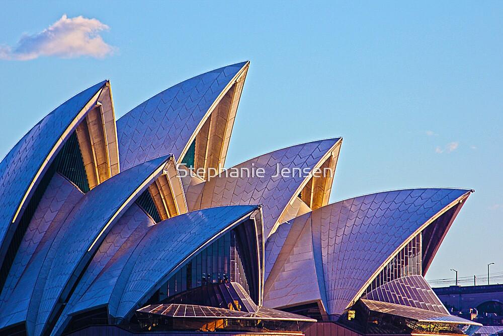 Opera House Sunset by Stephanie Jensen