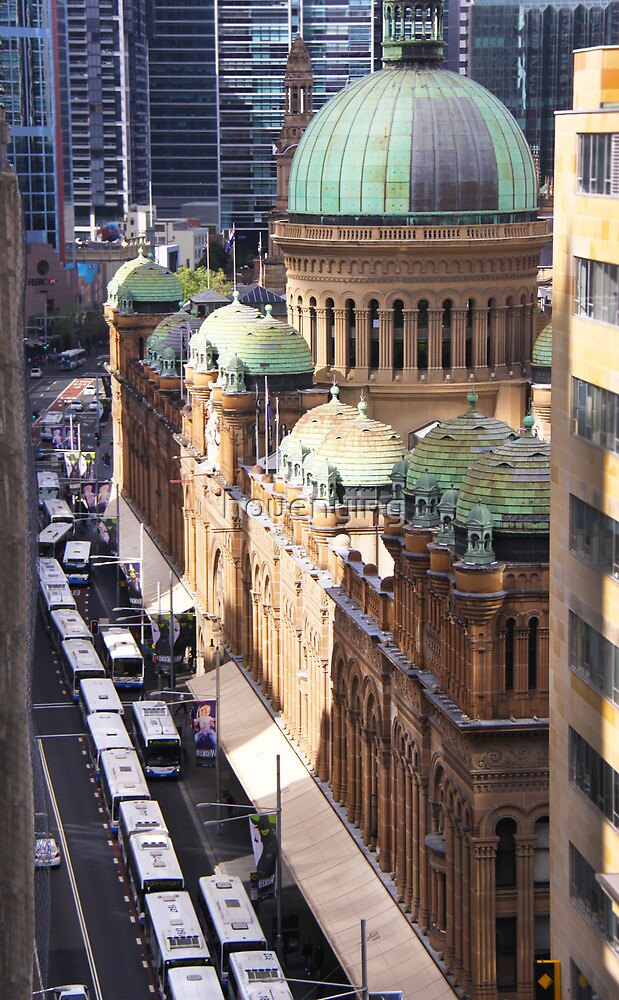 the ancient building in sydney by houenying