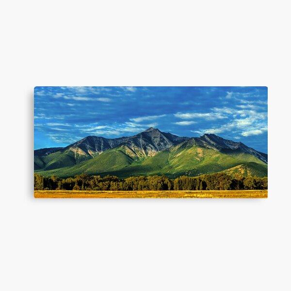 Mount Princeton Summer Sunrise Canvas Print