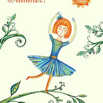 Happy Summer Day! by elenavadi