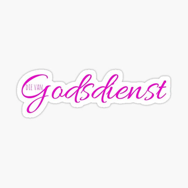 Godsdienst Sticker