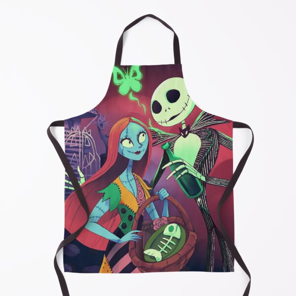 Jack Skellington and Sally Romantic Official Design Apron