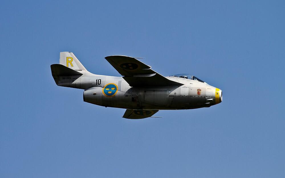 SAAB J29 Tunnan by PhilEAF92