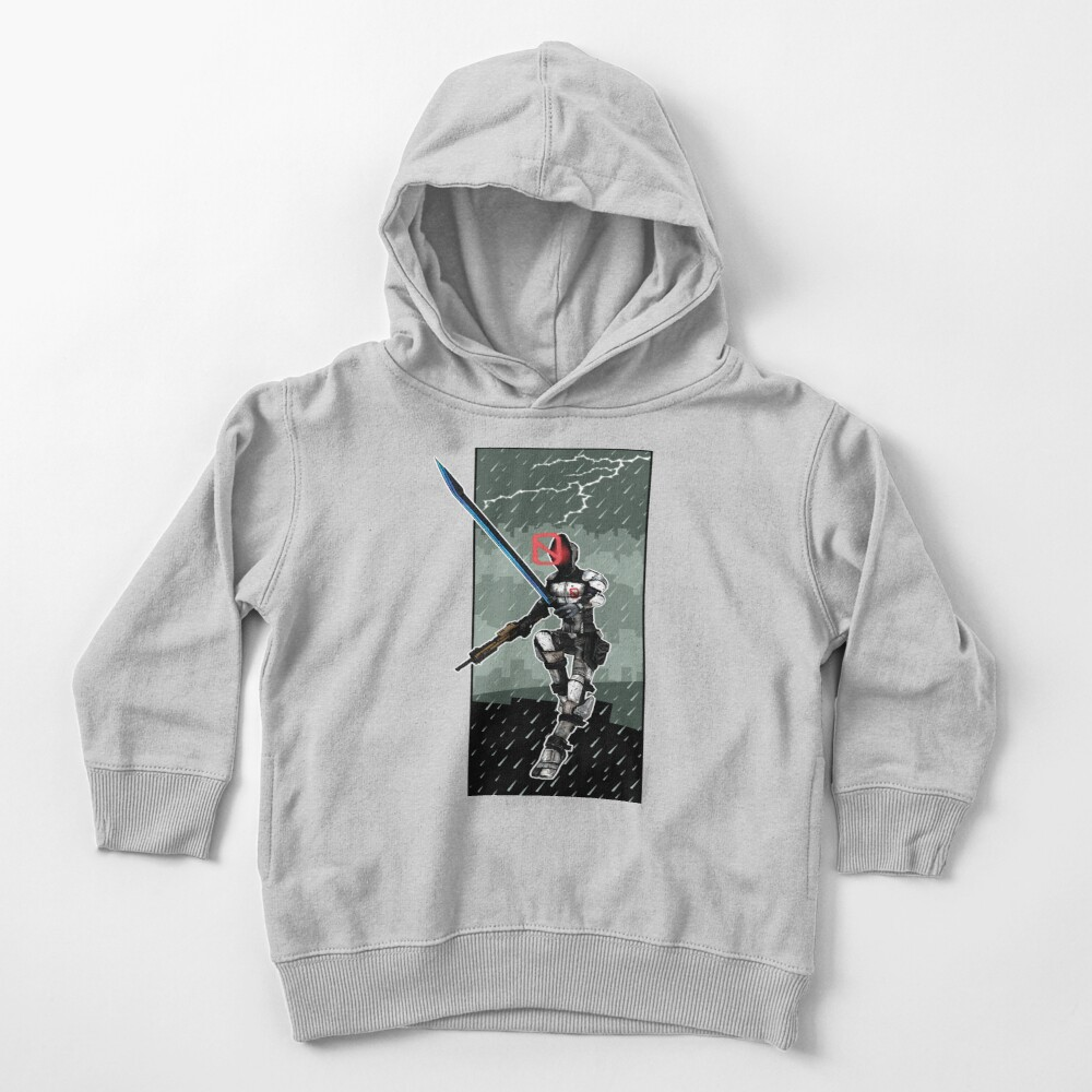 Zer0 The Assassin Borderlands Lighting And Rain Toddler Pullover Hoodie