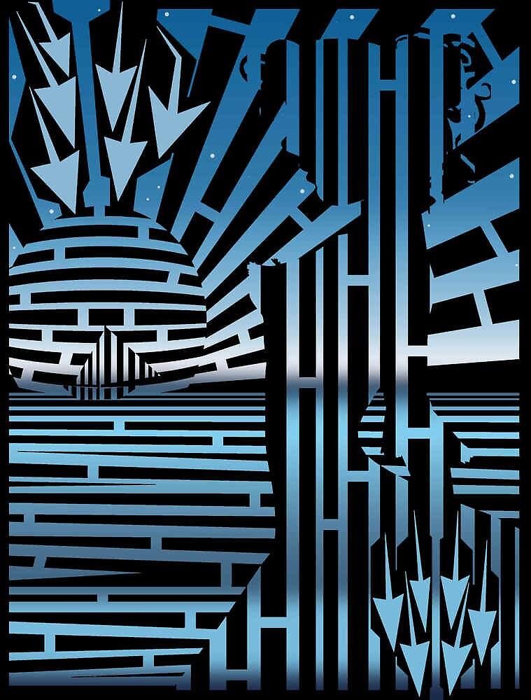 Perky Pokies Girl Maze by Yanito  Freminoshi