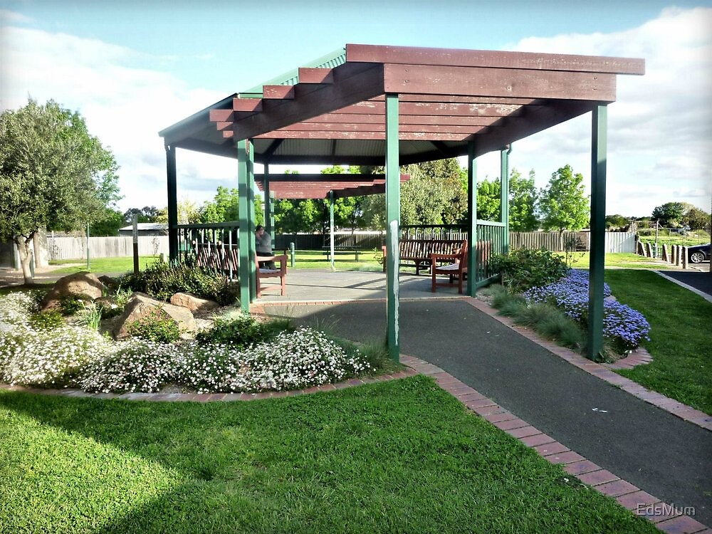 Small park & big Gazebo - Bacchus Marsh. Vic. by EdsMum