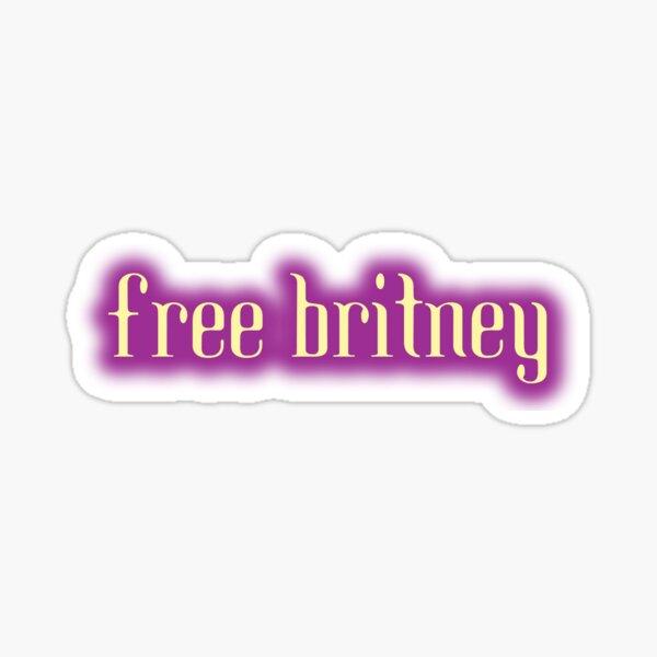 Britney gratuit Sticker
