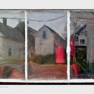 Window Reflection, Stonington, Maine by Dave  Higgins