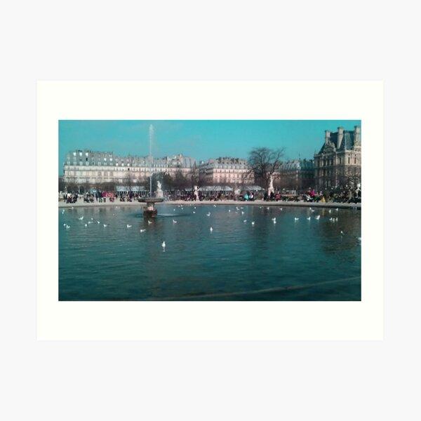 Tuileries Garden Art Print