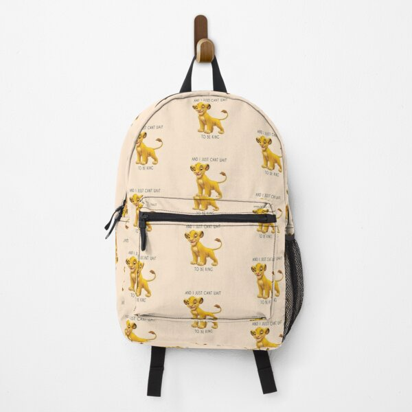 Simba from the Lion King Disney Quote Backpack