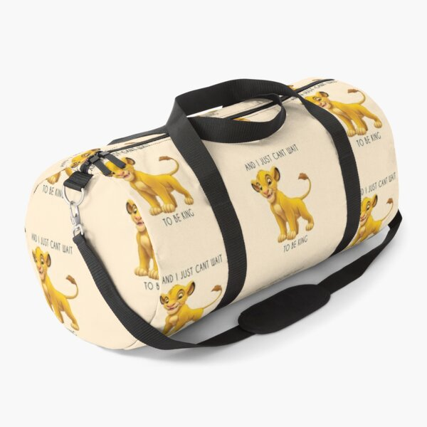 Simba from the Lion King Disney Quote Duffle Bag