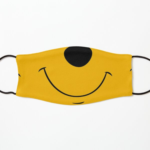 Honey Yellow Bear Face  Kids Mask