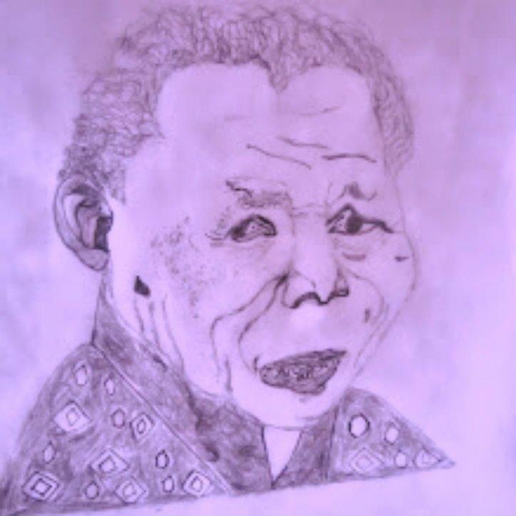 Nelson Mandela by Rudiworks