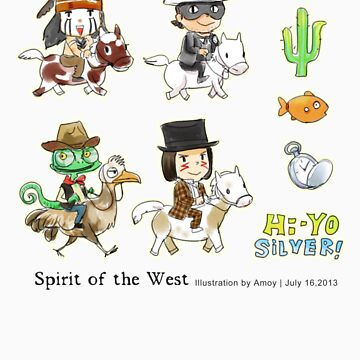 Spirit of the West by Amoy