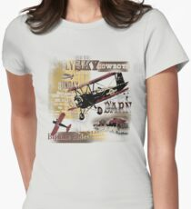 barnstorming Women's Fitted T-Shirt