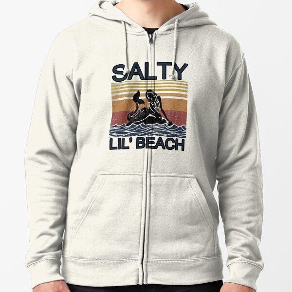 Salty Lil' Beach Zipped Hoodie