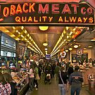 Pike Place Market by David Davies