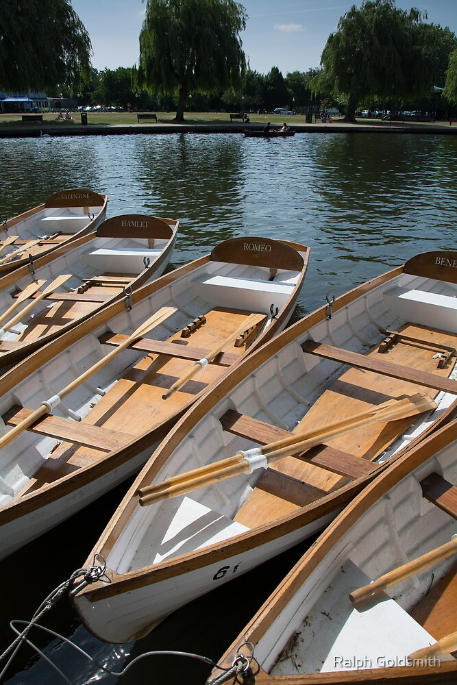 Boats for Hire by Ralph Goldsmith