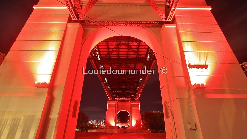 State Of Origin - Story Bridge Lights by Louiedownunder  ©